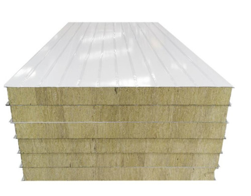 华立彩彩钢讲解彩钢岩棉板产品介绍