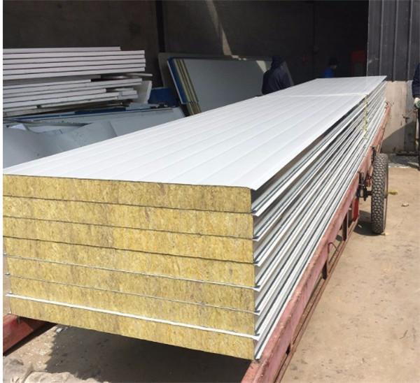 手工岩棉彩钢板有什么用途?