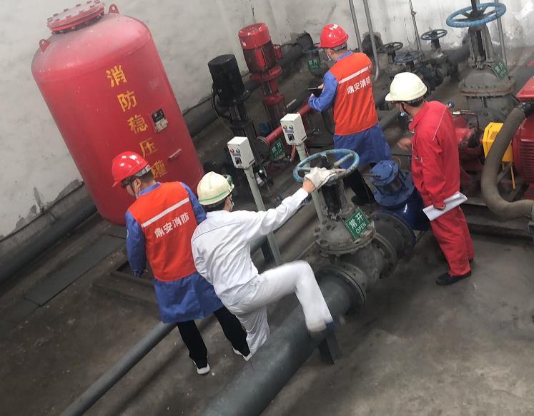 神木富油能源科技综合利用工程消防设施检测项目