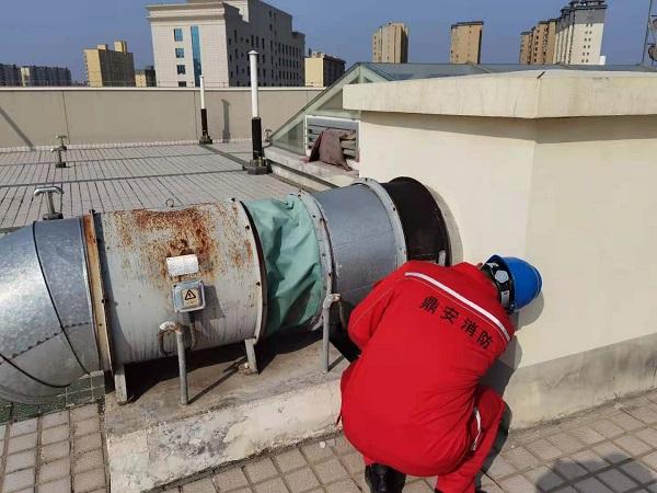 大荔县人民医院消防设施检测