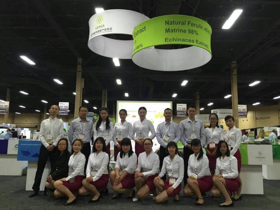 西安锐博生物参加2016美国植物提取物西部展