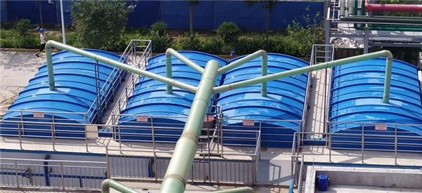 咸阳市政污水内循环反硝化处理项目