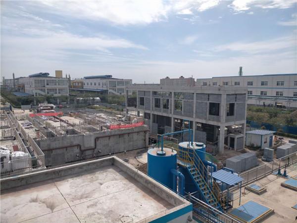 陕西某化工生产废水处理项目