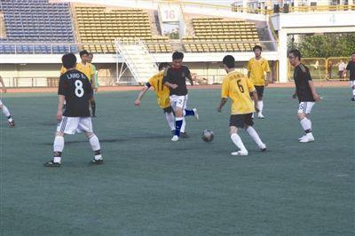 陕西博蔚实业员工足球赛