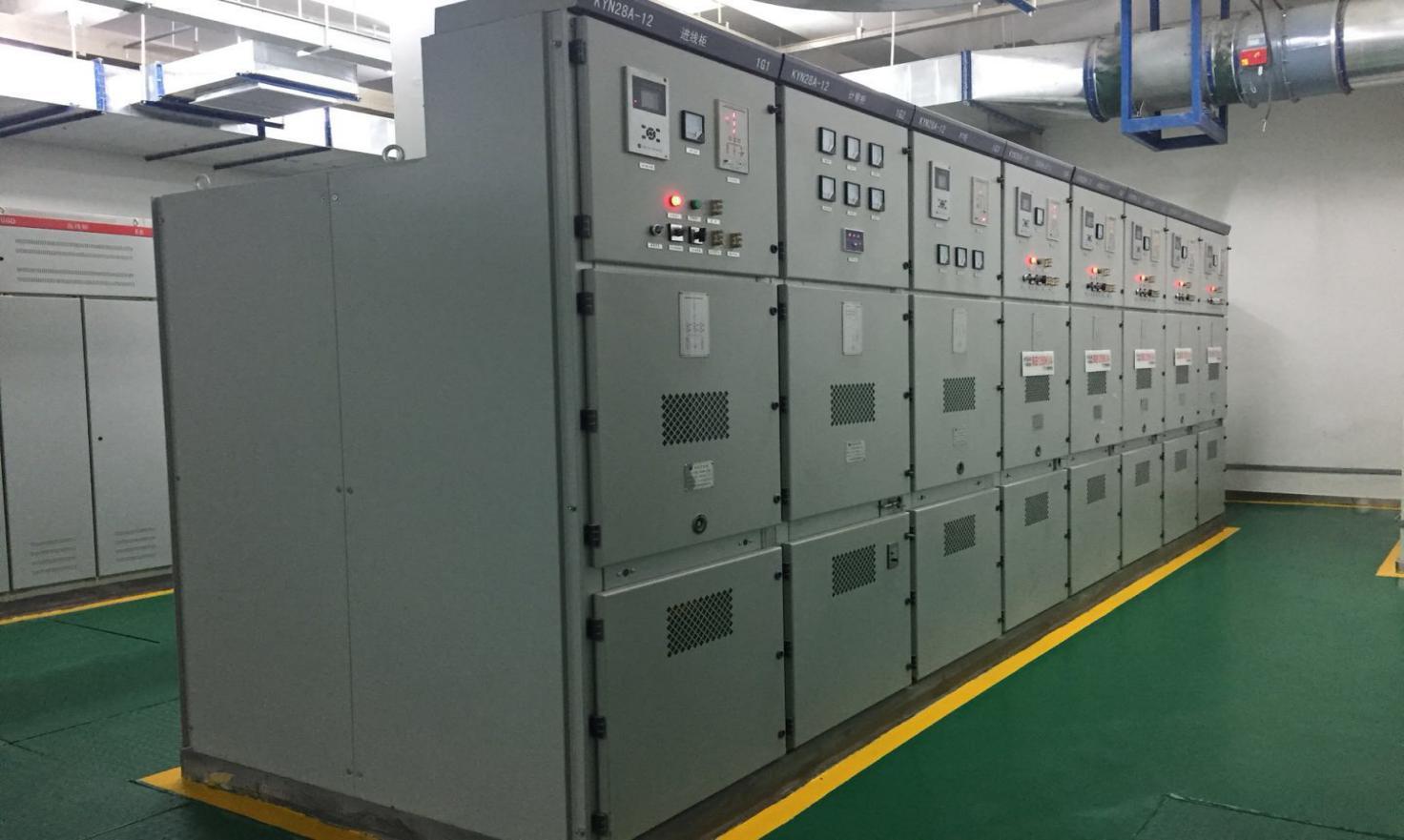 延安枣园文化广场高低压配电项目