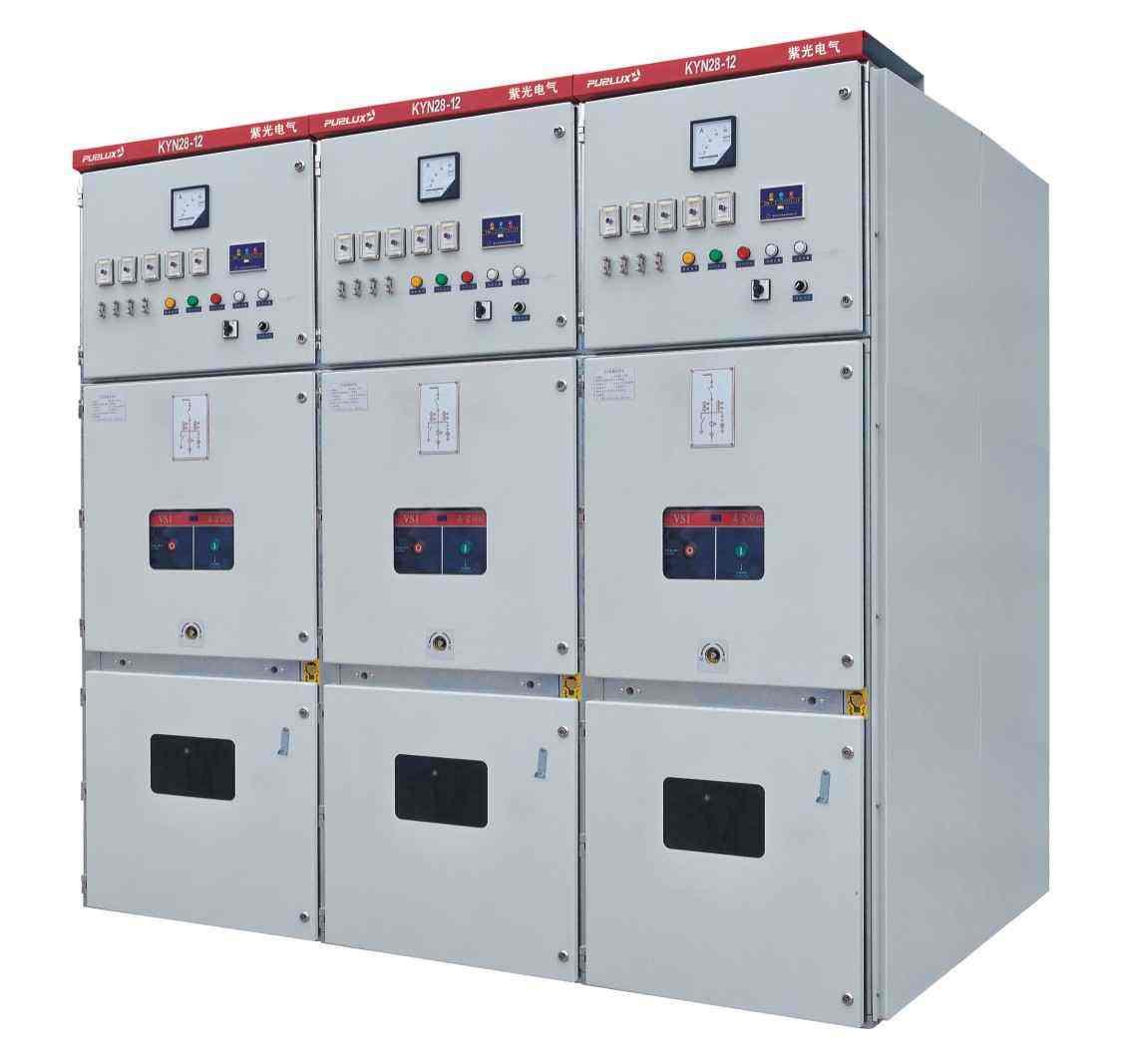 KYN28A-12金属铠装中置移开式开关柜