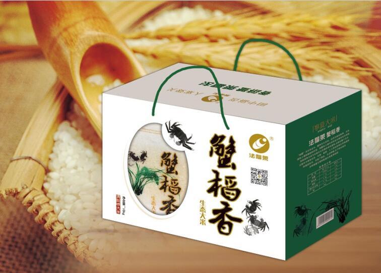 法福来蟹稻香大米礼盒