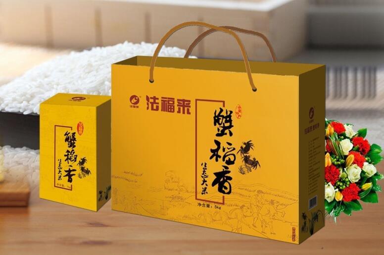 法福来宁夏蟹稻香大米5KG礼盒价格
