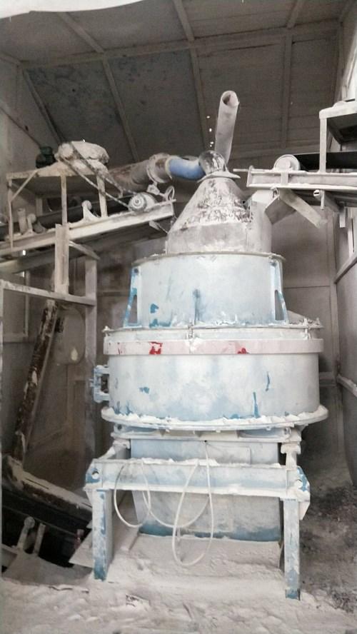 炉衬材料生产设备展示