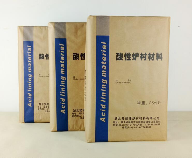 酸性炉衬材料D系列