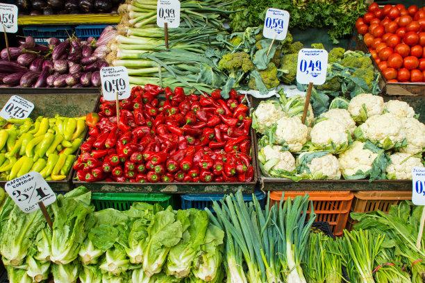 孟氏鴻園與菜市場提供蔬菜直供