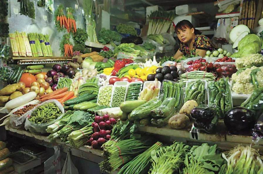 孟氏鴻園為杞縣菜市場提供蔬菜銷售