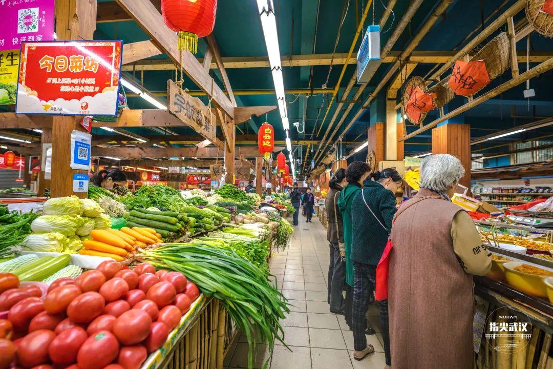孟氏鴻園與武漢菜市場提供蔬菜直供