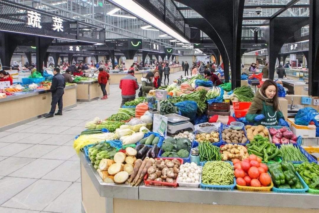 孟氏鴻園為鄭州西區菜市場提供蔬菜銷售