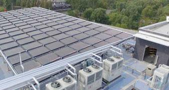太阳能空气能热水工程