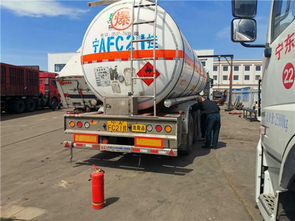 宁夏危险化学品货物运输车辆