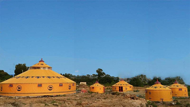 在福建如何选择选择信誉度高的蒙古包厂家?