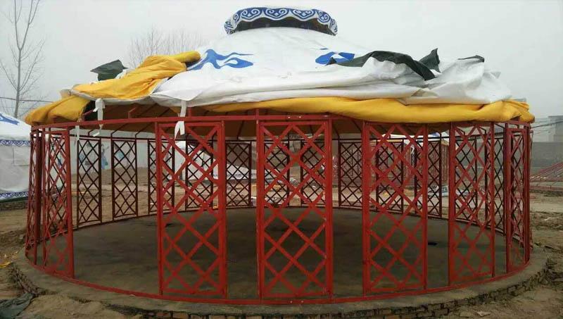 江苏传统生态园蒙古包价格