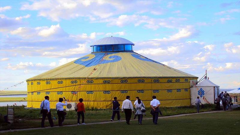 南方生态园蒙古包批发