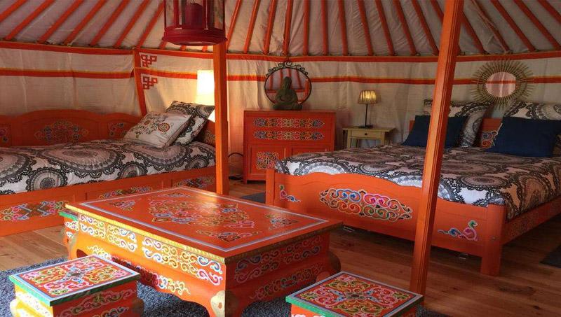 蒙古包家具批发厂