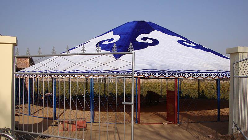 传统生产蒙古包安装厂