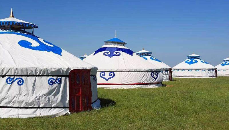 现代型蒙古包批发厂