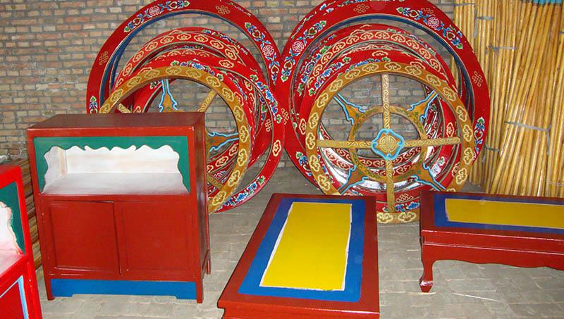 蒙古包堂那批发商