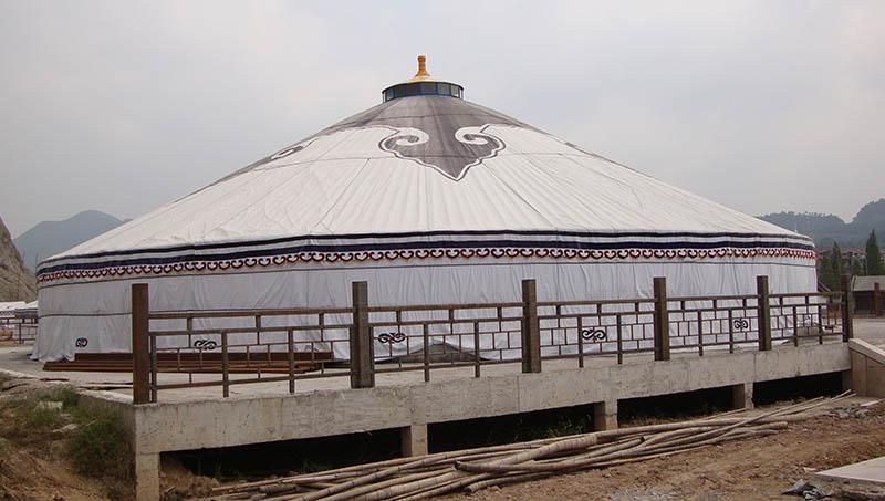 哪里有传统蒙古包安装厂家