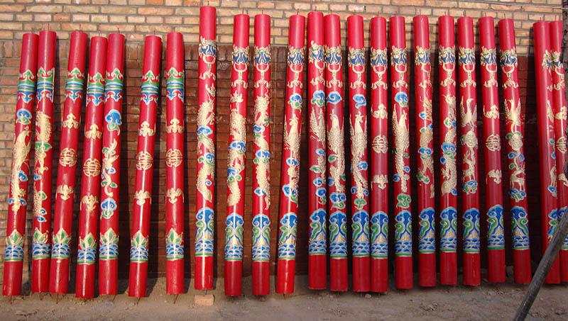 蒙古包柱子厂家