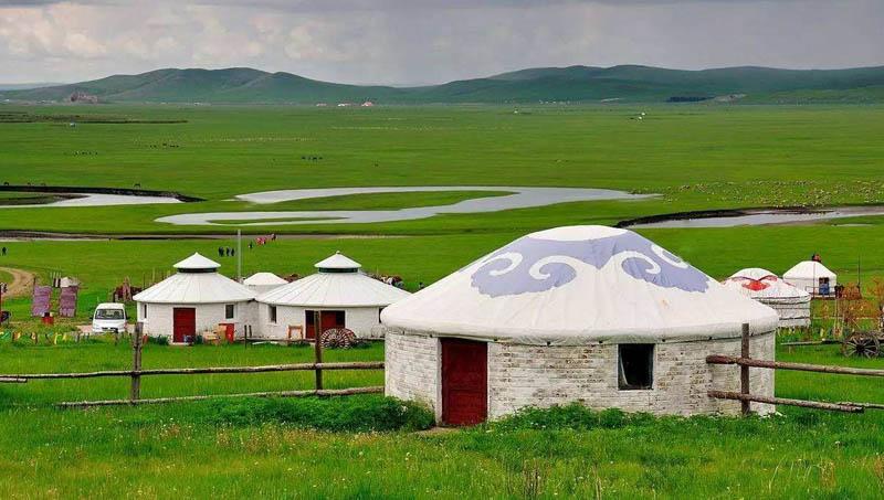 福建哪里有传统草原蒙古包厂家