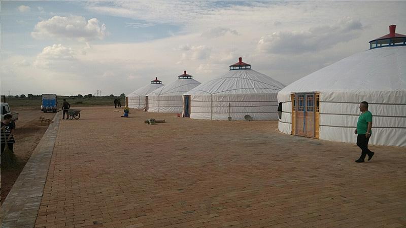 海南儋州市景区蒙古包生产企业-盛荣蒙古包厂家