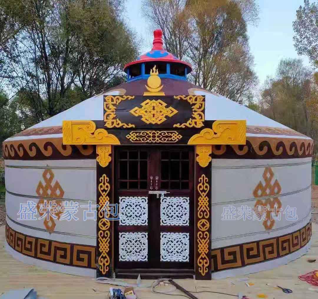 现代新型蒙古包