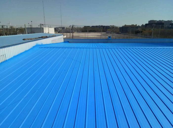 彩钢瓦防水喷涂工程