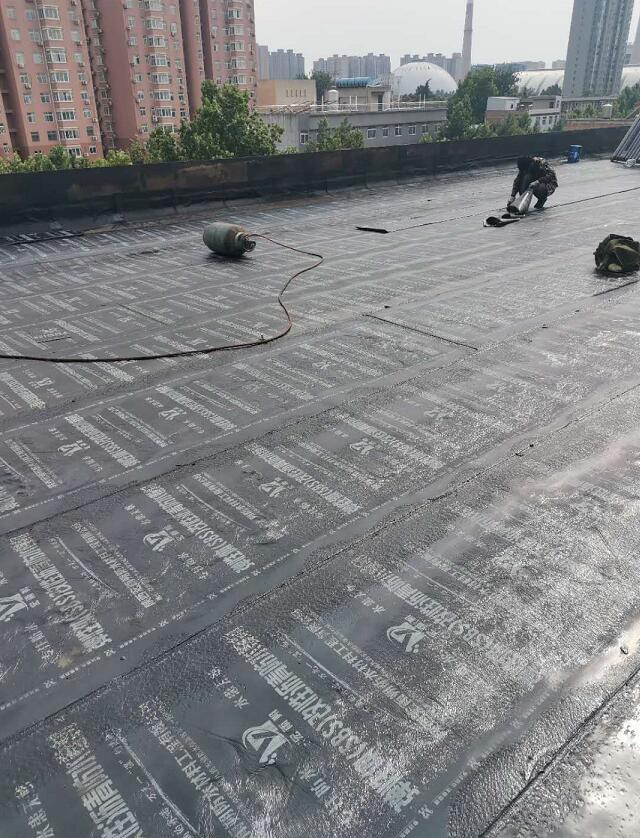 屋顶防水卷材案例