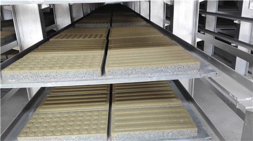 陶瓷透水砖——黄色导盲砖