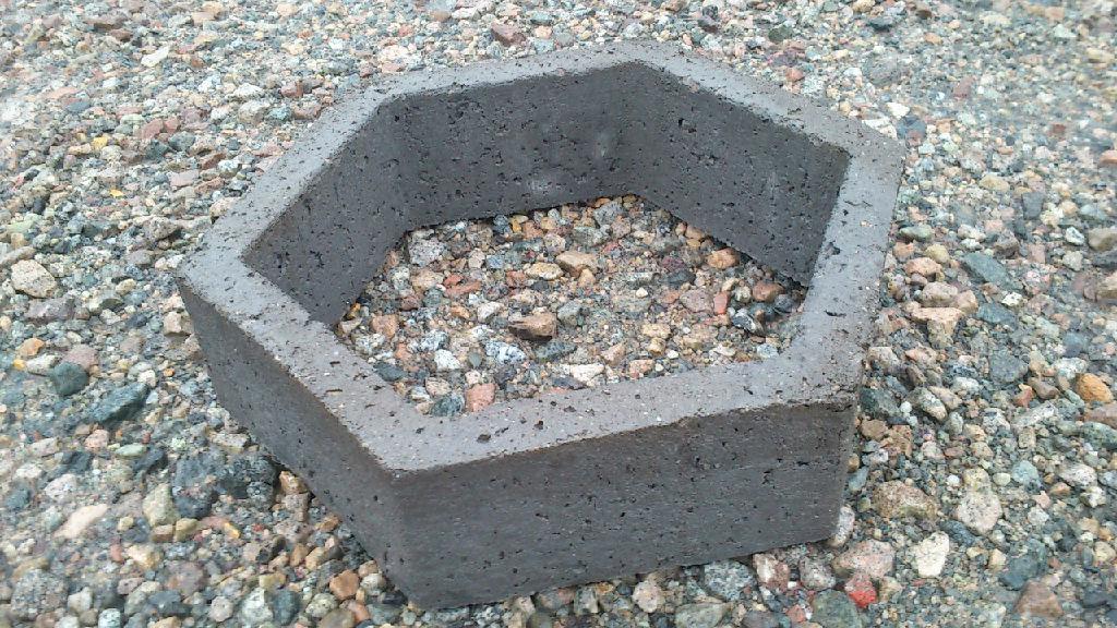陕西六角护坡砖