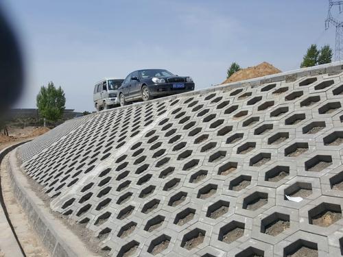 山体护坡砖工程案例