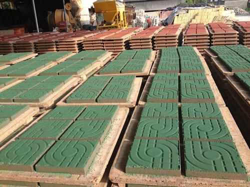 透水砖生产厂房