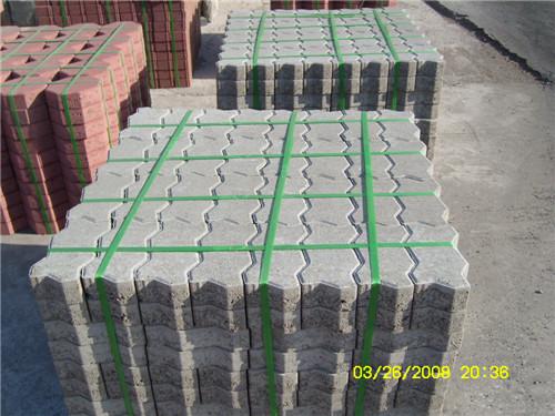 西安渗水砖效果图