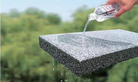 浅析透水砖完成后该如何清理铺面?