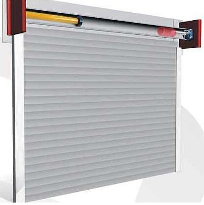 防火电动卷帘门正确安装使用技巧
