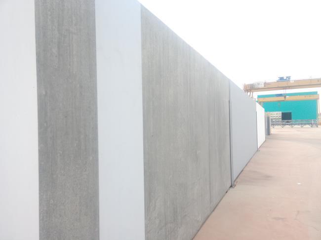 装配式围墙