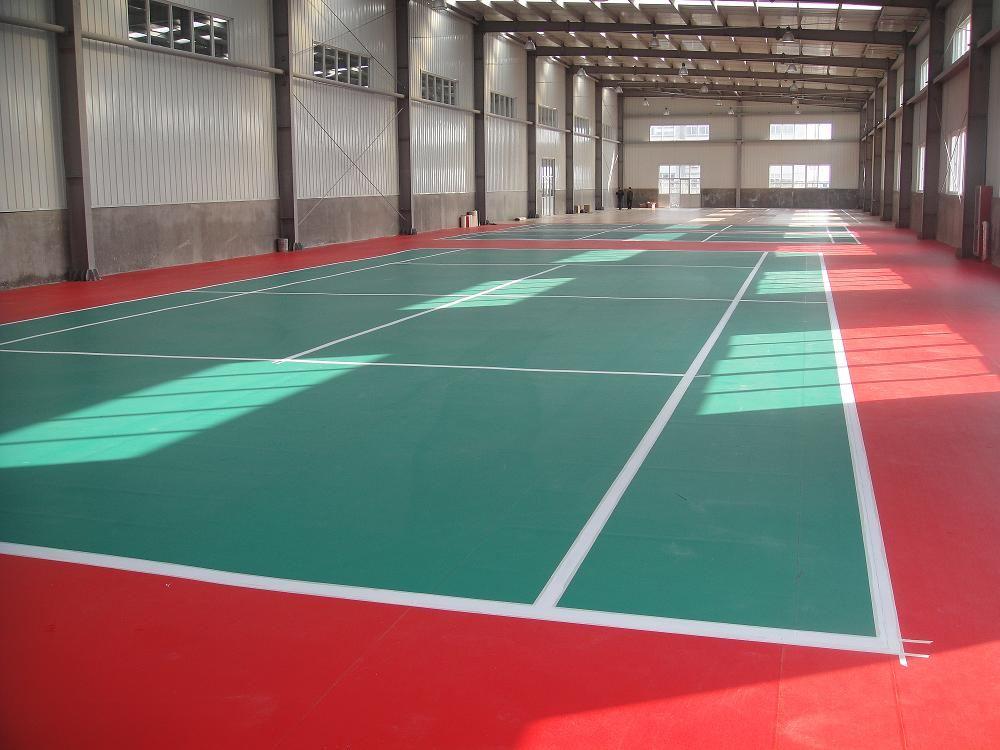 西安运动塑胶地板