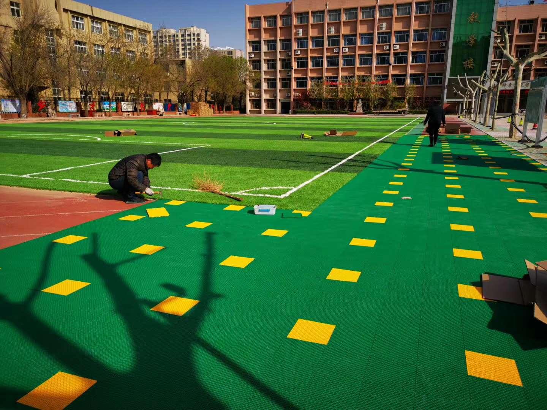 西安人造草坪在使用的时候咱们要注意什么?