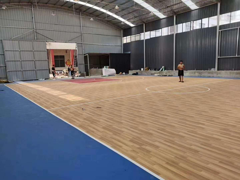 西安塑胶地板生产