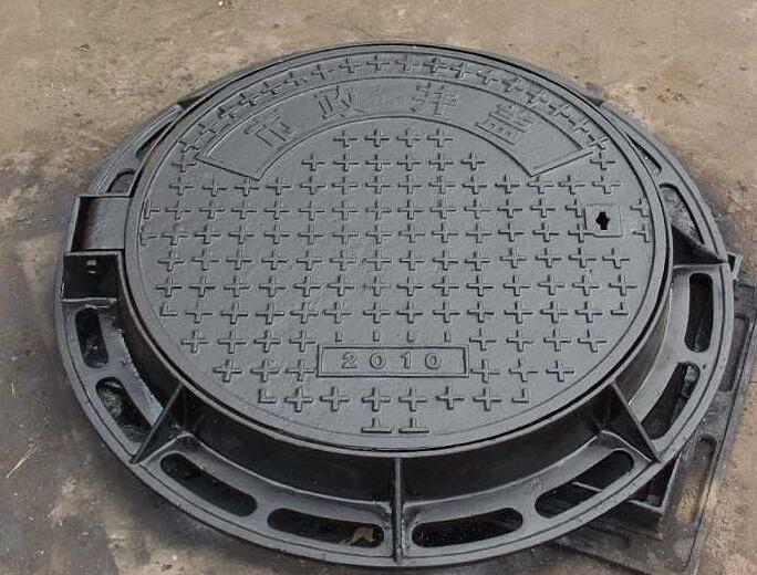 球墨鑄鐵井蓋案例