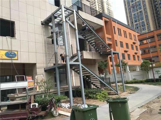 陕西钢结构楼梯