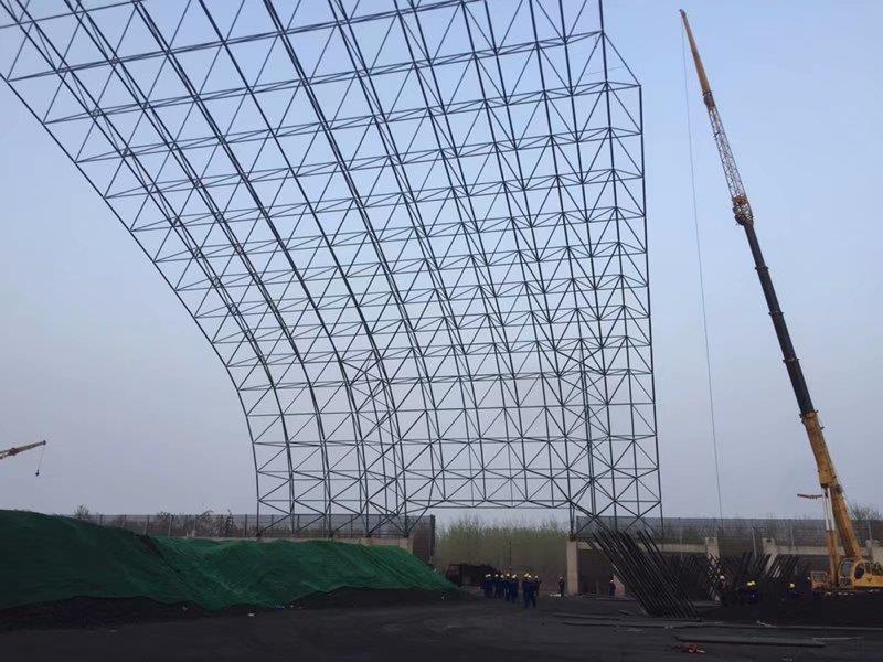 榆林煤仓网架项目