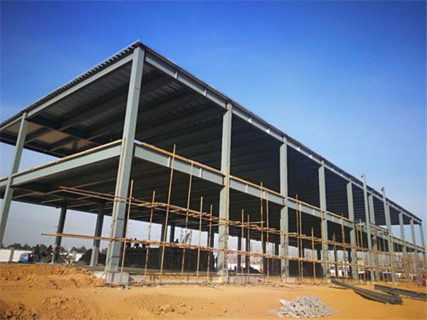 钢结构框架搭建