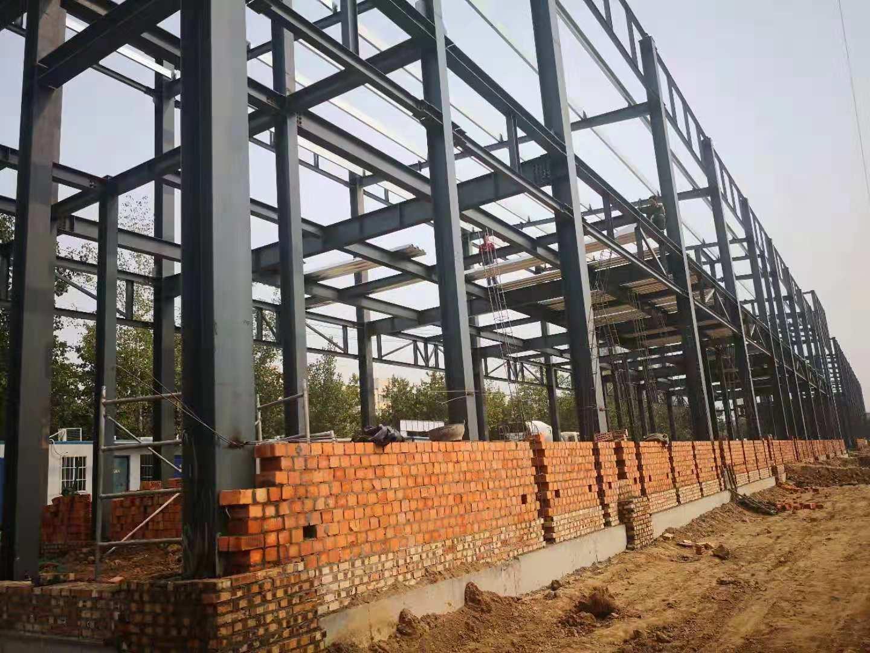 莱钢钢结构框架